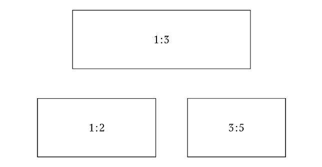 Выбор пропорций для вывески